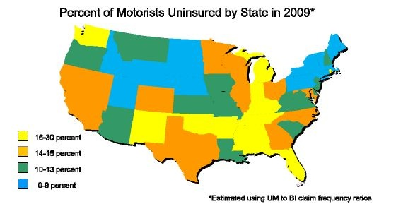 Uninsured Motorist - Tennessee